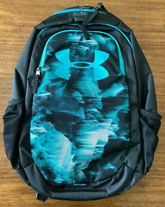 Under Armour UA Scrimmage 18.5 Laptop Backpack Large 25L Black Green New $45.99