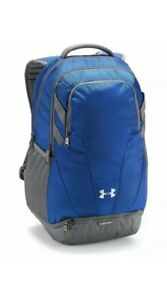 NWT Under Armour Team Hustle 3.0 Backpack 1306060 400 Blue & FREE SHIPPING! $39.99
