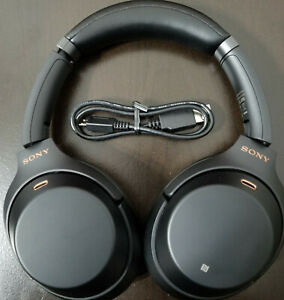 Sony WH 1000XM3 B Bluetooth Wireless Noise Canceling Stereo Headphones Black ** $115.99