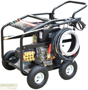 PRESSURE WASHER COMMERCIAL 10 HP DIESEL 3600 PSI - Electric Start wBattery New