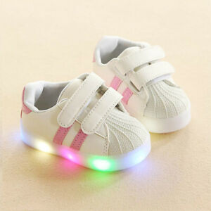kids shoes led light up sneakers boys running sneakers non slip shoes for child $13.71