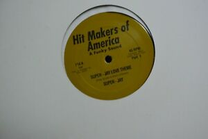 Super Jay Rare Funk 12quot; Super Jay Love Theme Pt.1 amp;2 Unplayed Peter Brown M $99.99