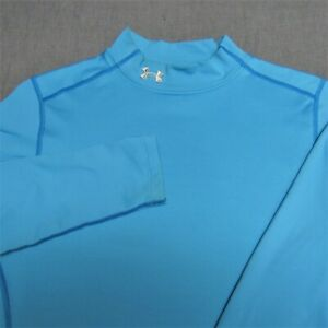 WOMENS UNDER ARMOUR COLD GEAR FITTED LONG SLEEVE SHIRT--L--TOP QUALITY!!!!