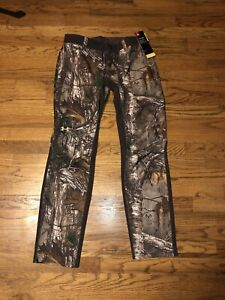 NEW Women's Under Armour Storm Size 8 Realtree Xtra Hunting Pants 1293111 Camo $49.99
