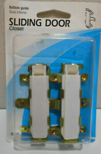 Slide Co 16557 Closet Door Guide, Bottom Mount, Snap In Pack of 2