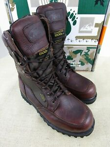 TECS TRAILMAKER SERIES 2609 8quot; BROWN HUNTING BOOTS WOMENS SIZE 8M LACE UP BOOT