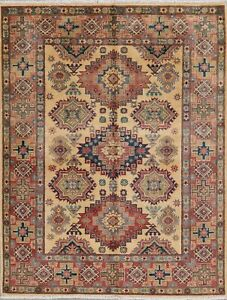 IVORY&CORAL 5'x7' Super Kazak Hand-Knotted WOOL Oriental Area Rug South-west NEW