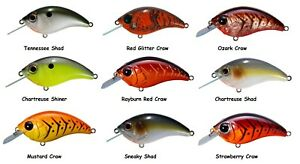 Bill Lewis Lures SB-57 Squarebill Crankbait - Choice of Colors