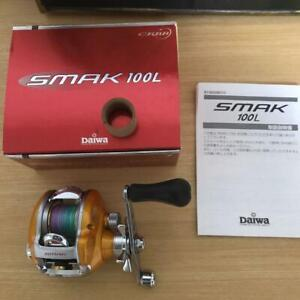 Daiwa Smack SMAK 100L Used Goods Completed Product Price Cuts.Fishing reel