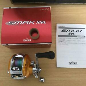 Daiwa Smack SMAK 100L Used Goods Completed Product Price Cuts.Fishing reel.