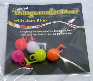 Thingamabobber #1495 Strike Indicator w Jam Stop Fly Fishing Float 1 2quot; Trout $7.64