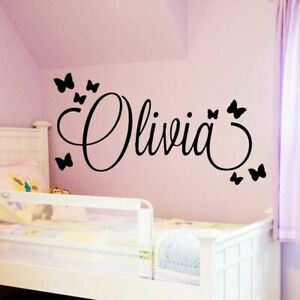Large Size Personalized Custom Name Wall Sticker Art Decal Babys Wall Stickers
