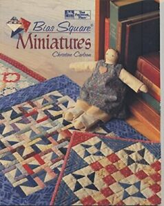 Bias Square Miniatures by Carlson Christine Paperback Book The Fast Free $33.61