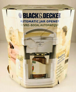 BLACK & DECKER LIDS OFF AUTOMATIC JAR OPENER MODEL JW 200 Box Damaged