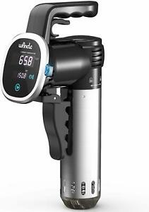 Sous Vide Cooker, Wancle Thermal Immersion Circulator, with Recipe E-Cookbook,