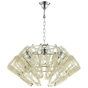 Cyan Design 4 Light Roswell Pendant Chrome - 8836