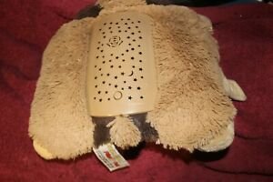 Pillow Pets Dream Lites Brown Dog For Kids Lights Small