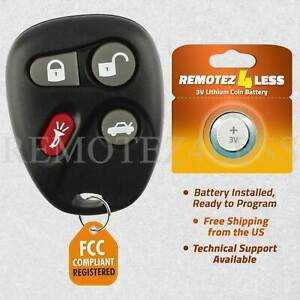 For 12223130 50 SRX CTS Cavalier Sunfire Saturn Cadillac Remote Fob Entry $12.95