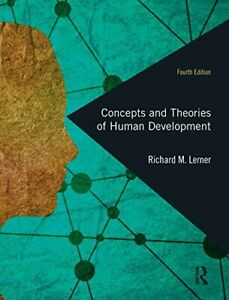 Concepts and Theories of Human Development by Lerner, Richard M. Hardcover