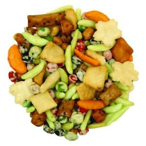 2 FULL pounds Wasabi Explosion XTRA SPICY Snack Mix BULK Free Ship Great Snack