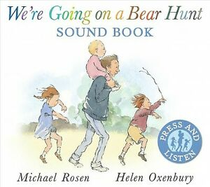 We're Going on a Bear Hunt Sound Book, Hardcover by Rosen, Michael; Oxenbury,...