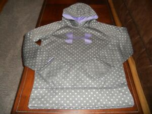 Under Armour girls hoodie size Y XL youth extra large sweat shirt loose Storm $14.00