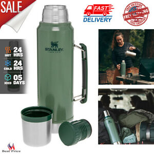Vacuum Insulated Wide Mouth Bottle Stainless Steel Thermos Cold