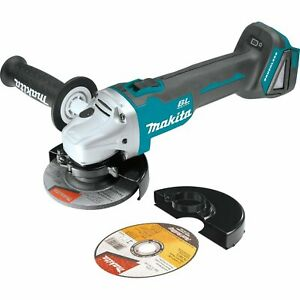 Makita XAG04Z 18V Cordless 4-1/2-Inch/5-Inch Cut-Off/Angle Grinder (Tool Only)