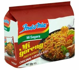 Indomie Instant Fried Noodles - Original Flavour (80g x 5)