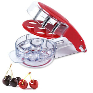 1pc Cherry Pitter Cherry Seed Remover With Grip 6 Cherries At Once