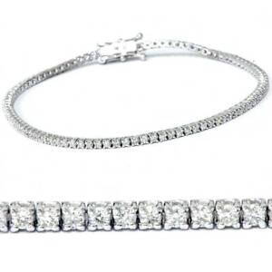 2ct Diamond Tennis Bracelet 14K White Gold 7quot;