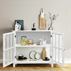 FCH Storage Sideboard Buffet Wooden Cabinet Console Table Server Home Kitchen