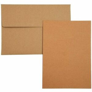 Set of 100 A1 Blank Cards with Envelopes for Card Making 3 1/2