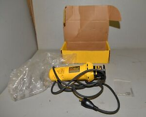 Dewalt 5 amp cut out tool DW660 New in box rotary wood working tool drywall