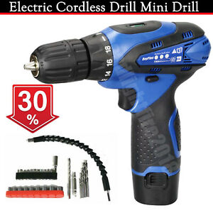 Heavy Duty Electric Cordless Combi Drill Driver Screwdriver Lithium-ion 16.8V