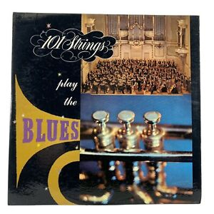 101 STRINGS Play the Blues Excellent Condition Vinyl Record Somerset P 5800 A