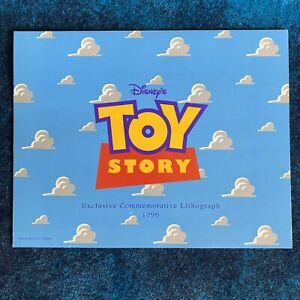 Disney Pixar 1996 Toy Story Exclusive Commemorative Lithograph 11X14