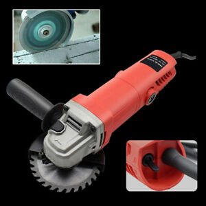 11000rpm 980W Electric Angle Grinder 115mm Heavy Duty Cutter Grinding Spanner SU
