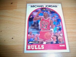 Michael Jordan 1989 90 Hoops RC #200 WE