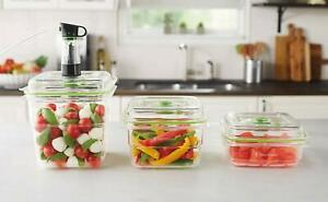 FoodSaver FA3SC358 000 Fresh containers 3 piece set 3 5 8 cup