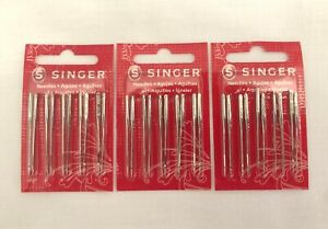 Singer Needles Red Band 2020 11 80; Sharp Point For All Household Machines $16.00