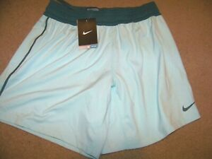 NWT Nike Dri Fit Shorts Women#x27;s S Turquoise Blue Training Stay Cool $12.99