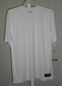 Tee Shirt Short Sleeve White Golds Gym Bi Dri XL $5.99