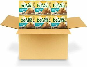 belVita Toasted Coconut Breakfast Biscuits, 6 Boxes of 5 Packs 4 Biscuits Per P