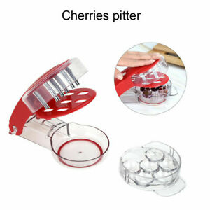 Cherry Pitter Olive Stoner Core Pit Remover Tool Fruit Kitchen Travel Gadget