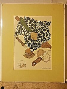 Portal Publications Can Opener M.C. Hartwell Lithograph 60 GG07 41 $14.00