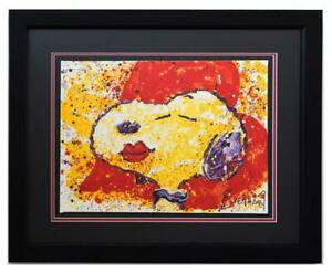 Tom Everhart Hand Pulled Original Lithograph quot;A Kiss $1200.00