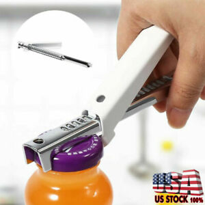 Adjustable Jar Lid Opener Stainless Steel Can Practical Can Seal Remover US SALE