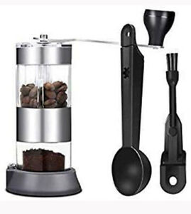Manual Coffee Grinder Mini Stainless Steel Lightweight and Portable High-quality