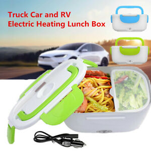12V Portable Electric Heating Lunch Box For Car Food Storage Container Heater US